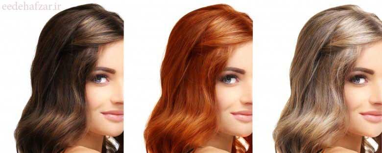 رابطه رنگ پوست و رنگ موی سر
